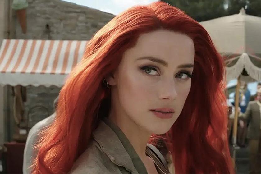 Amber Heard Aquaman 2 Mera 2021