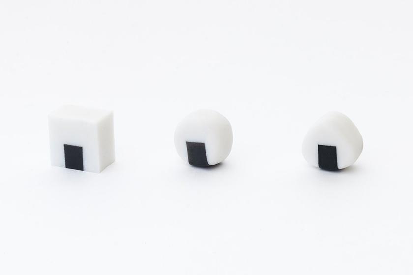 Japan Twitter Stationery Design Eraser Rice ball