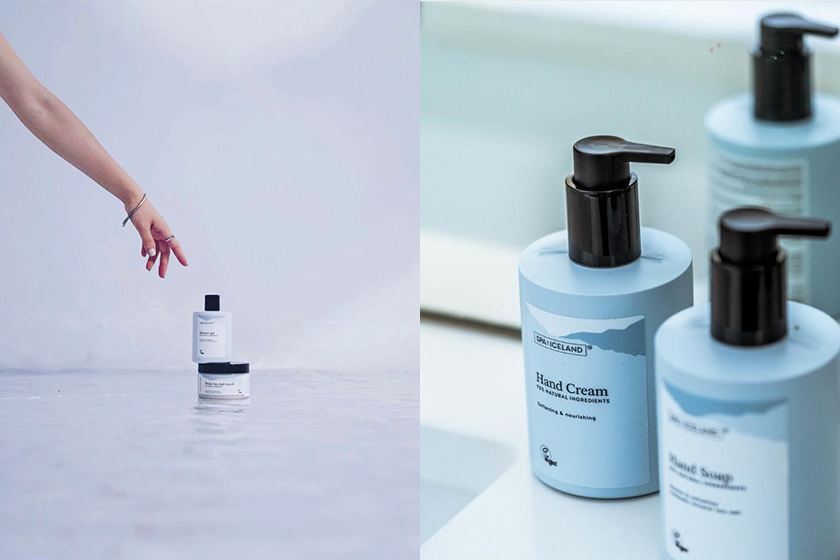 SPA of ICELAND Indie Skincare Brand from Iceland