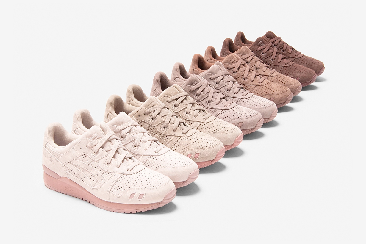 ascis kith GEL-Lyte III sneakers 30 anniversary colors