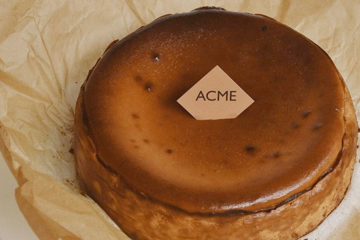acme breakfast club holiday basque limited flavor whiskey caramel taipei