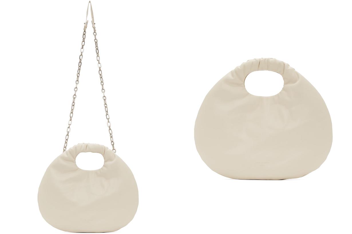 Beige Egg Bag
