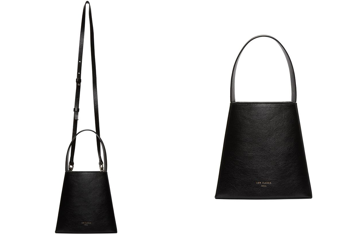 Black Mini Curve Bag