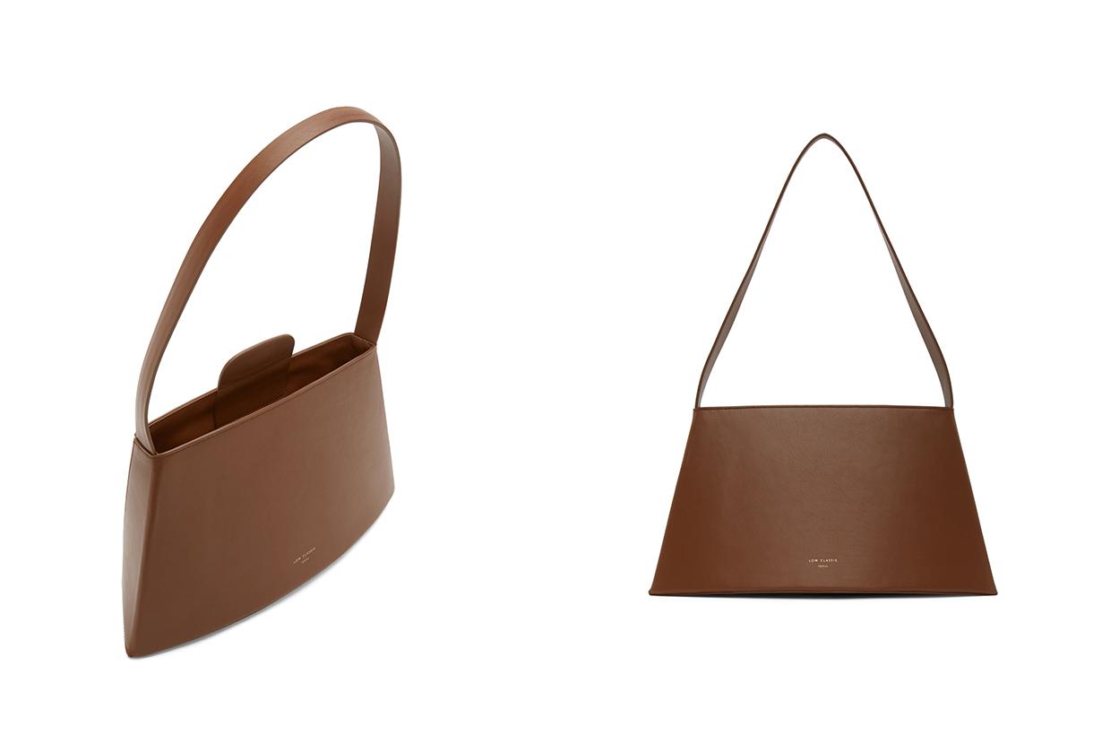 Brown Curve Bag