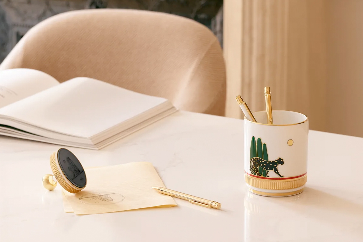 cartier home objects collection 2020 office supplies