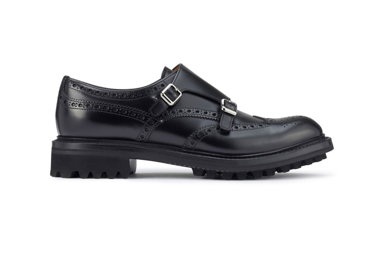 CHURCH'S Lily calf leather derbies