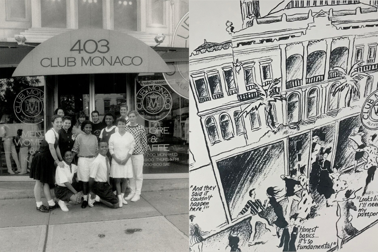 Club Monaco 1985 Store