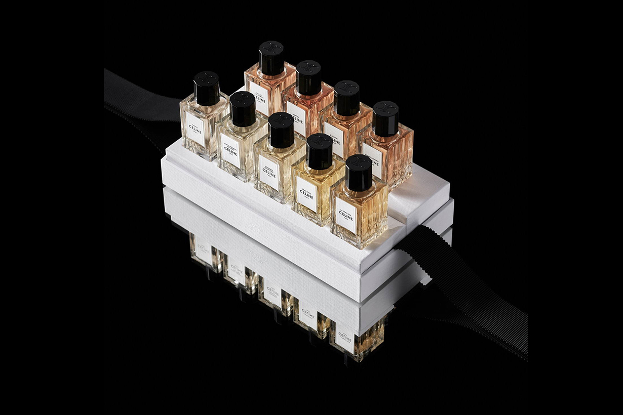 Celine Coffret Miniature Set perfumes Hedi Slimane