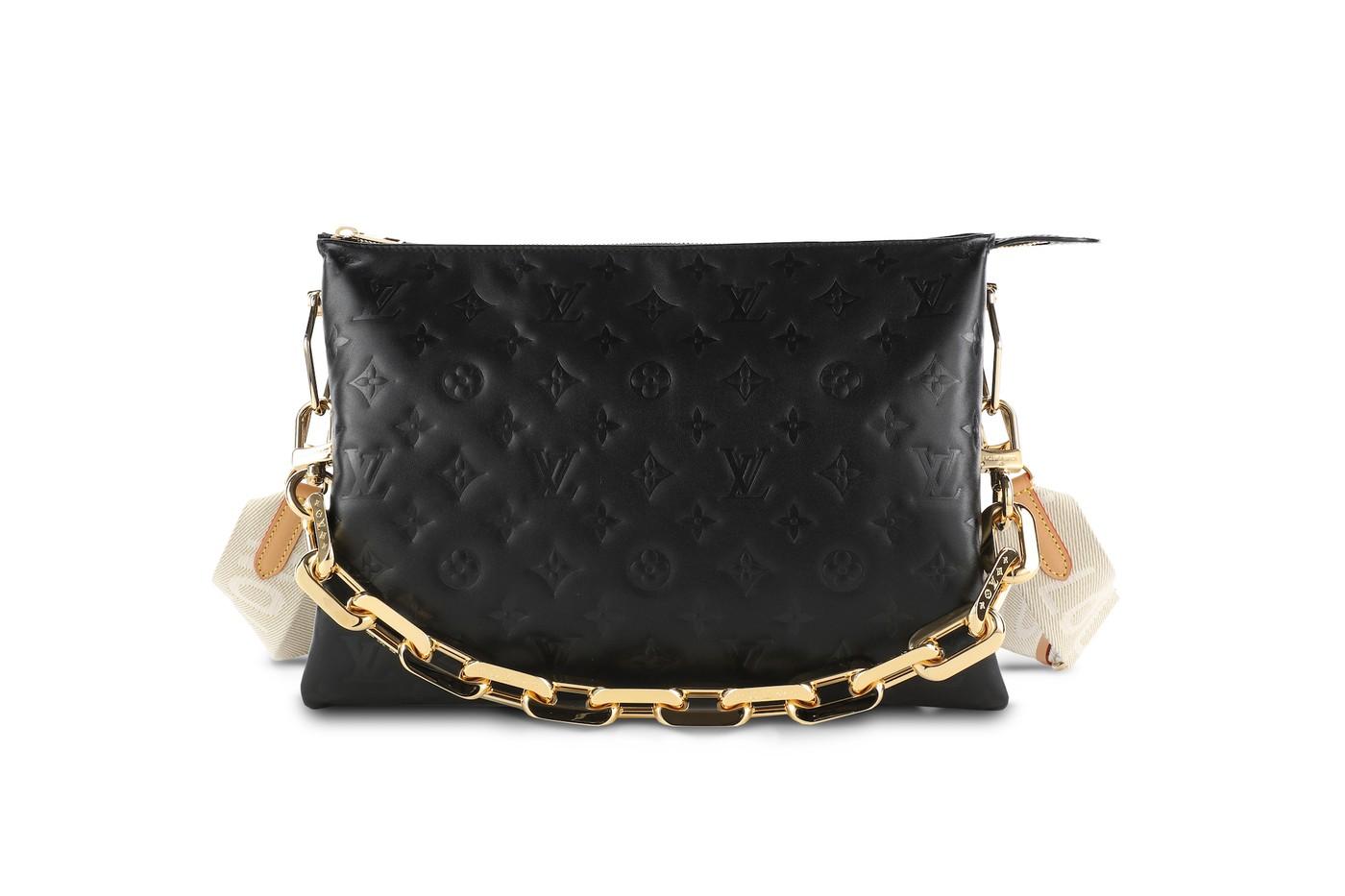 Louis vuitton monogram chain bags 2021 ss handbags collection