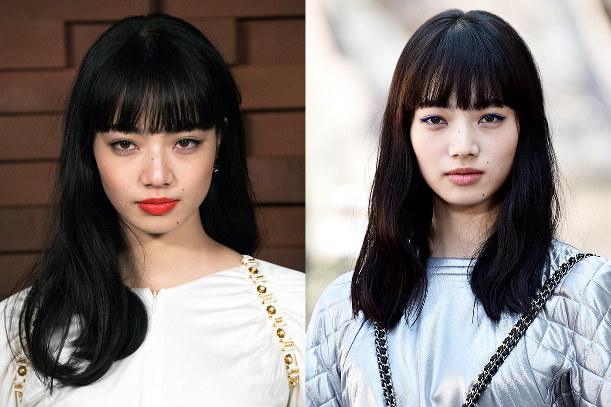 Komatsu Nana Nana Komatsu Japanese idols celebrities models actresses celebrities makeup tips mask wearing tips makeup trends 2020 fall winter covid-19 coronavirus
