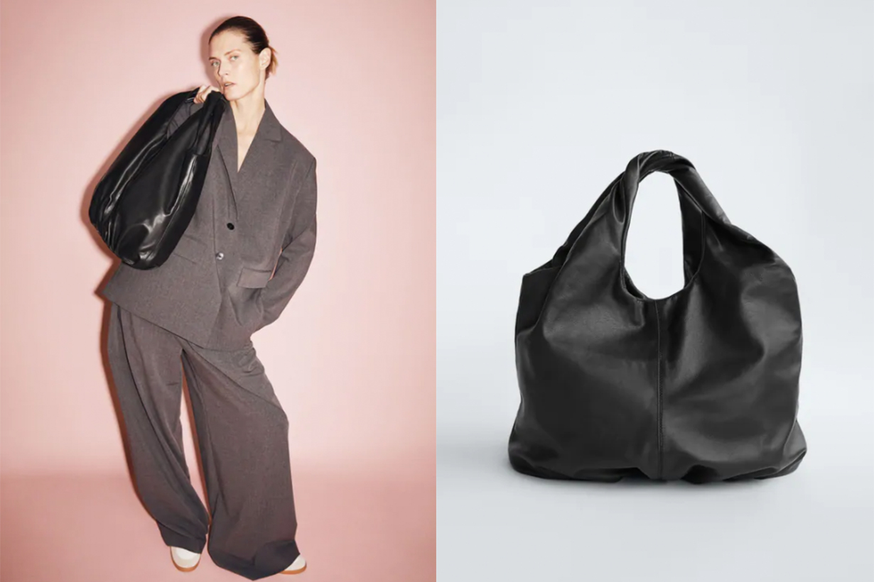 LIMITED EDITION LEATHER TOTE HANDBAG