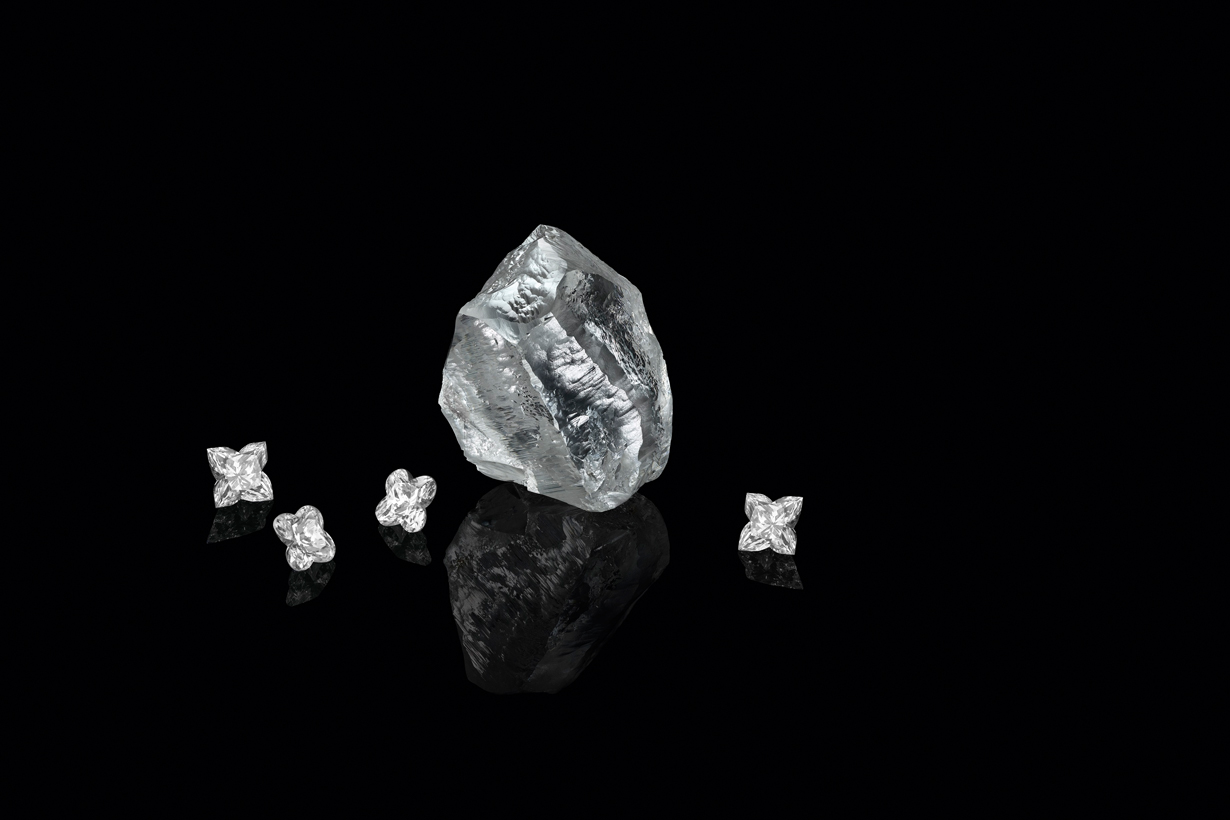 lvmh louis vuitton diamond Sethunya carat 2020