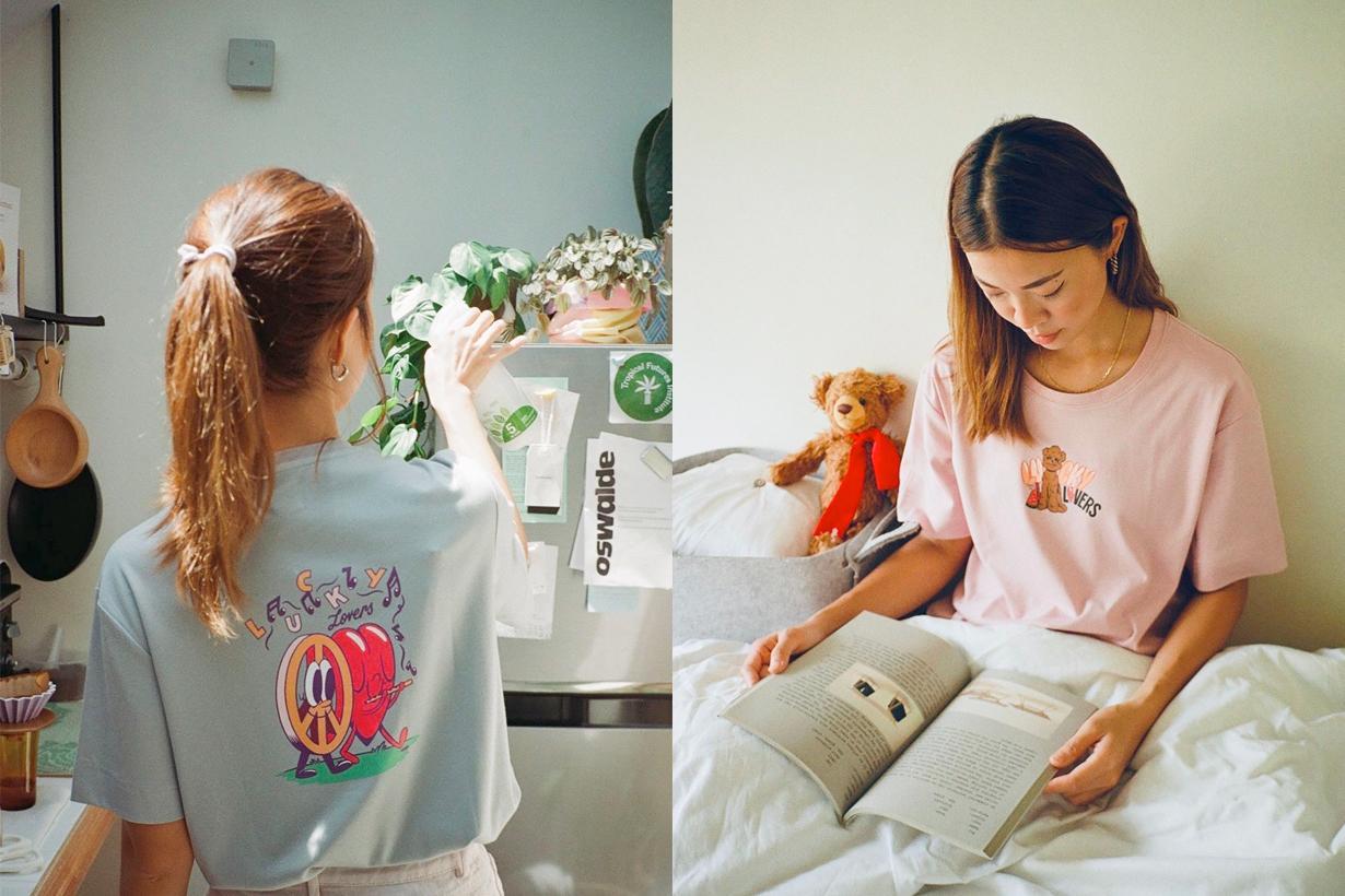 Oak & Bindi artifacts lucky lovers club interview t-shirts