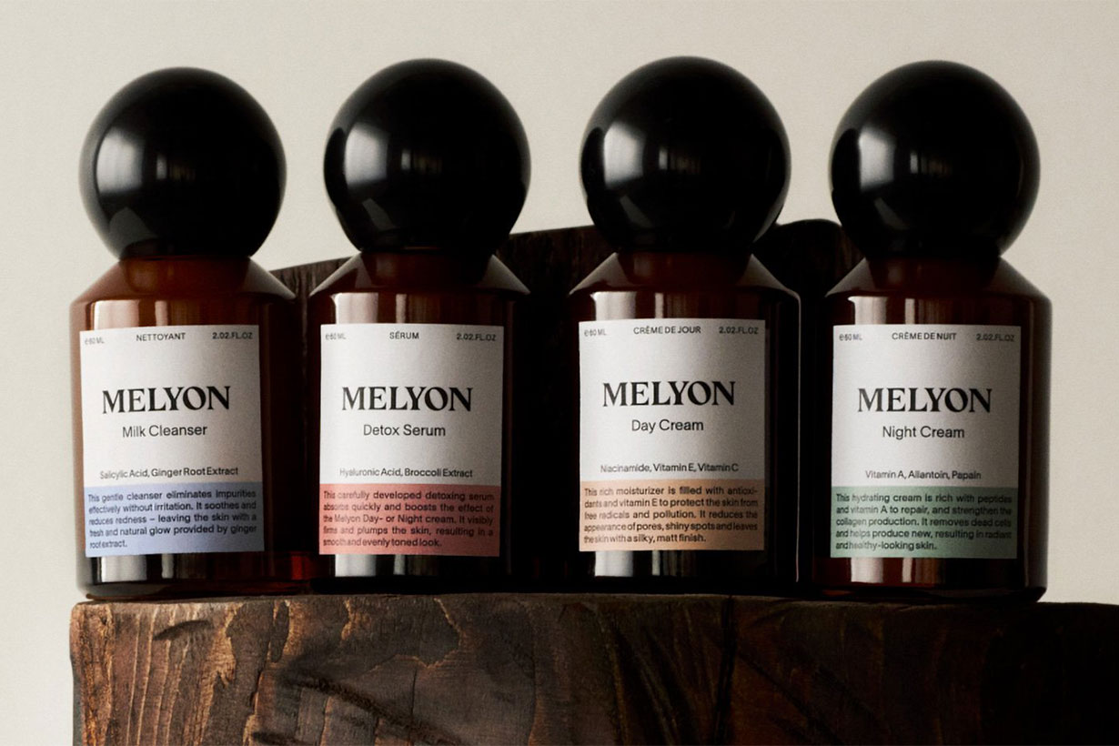 Melyon Product Bottles