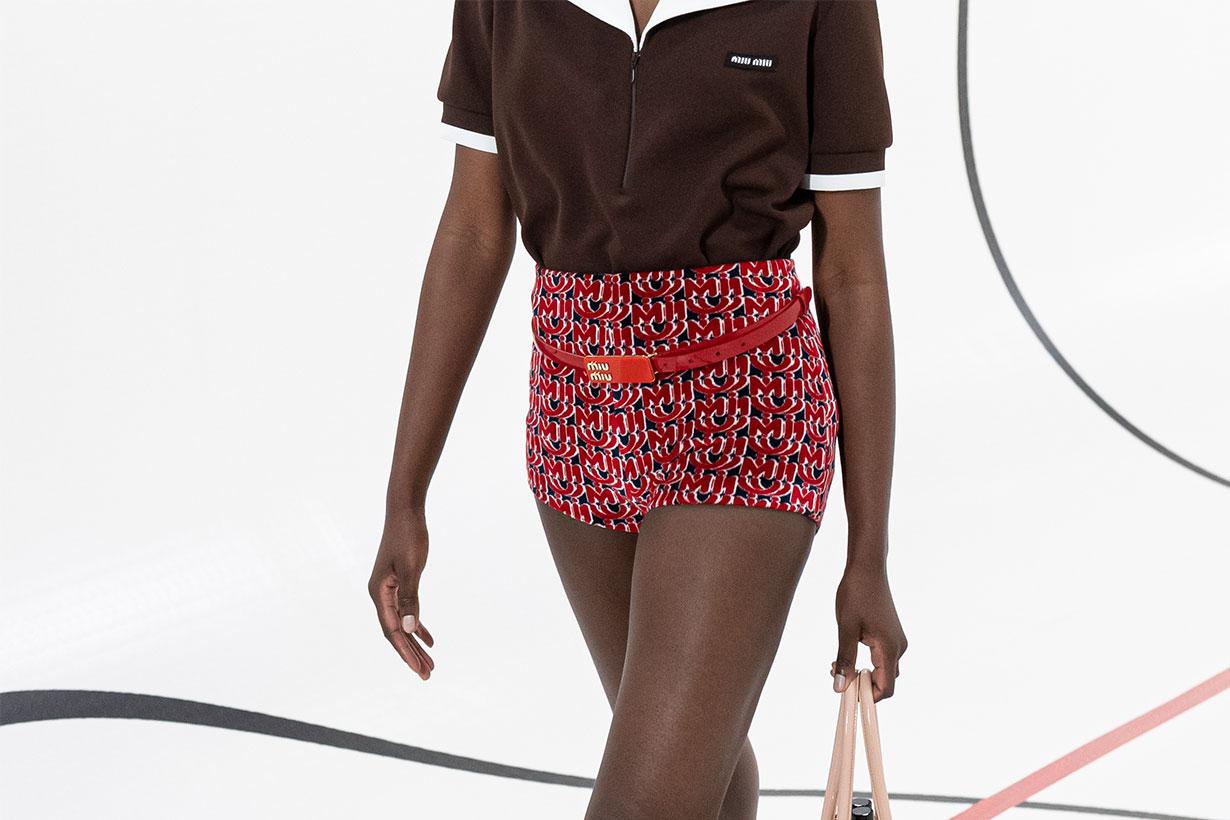 Miu Miu shorts with belt