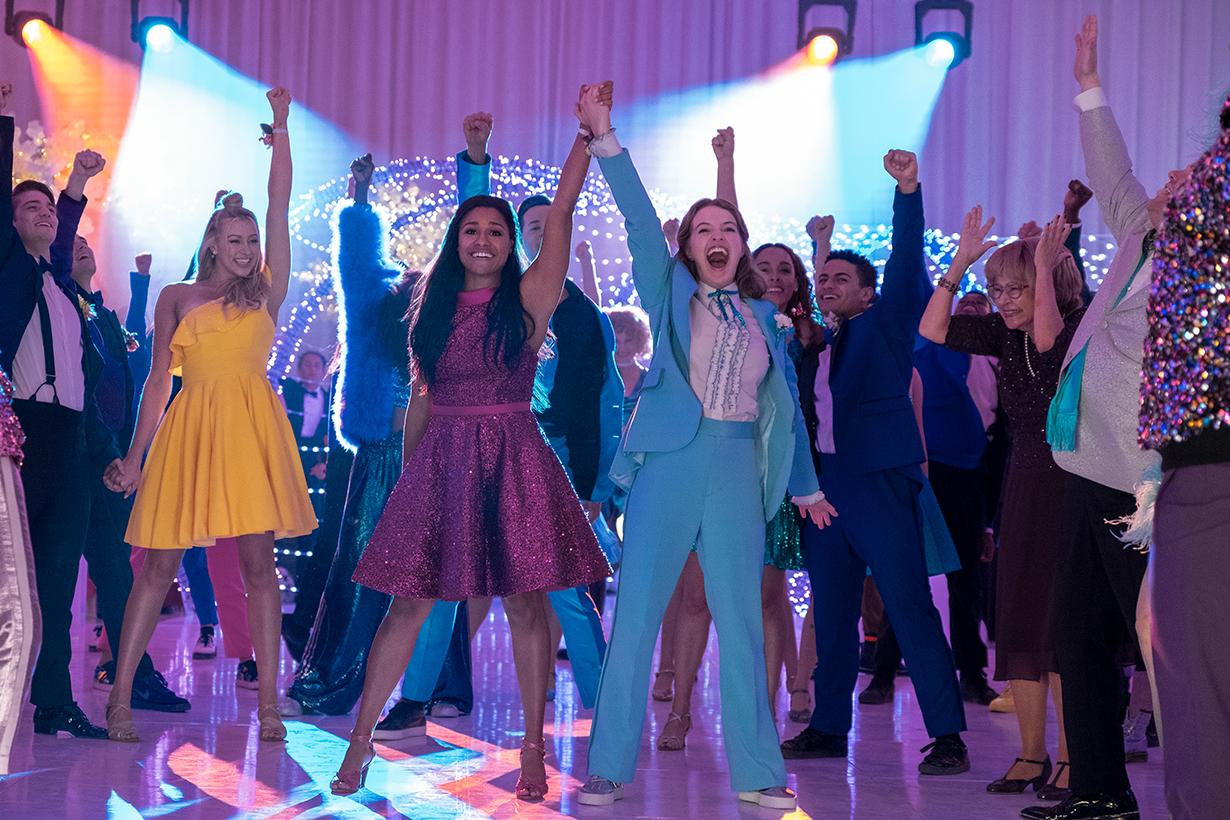netflix the prom Nicole kidman meryl streep james corden gay christmas movie