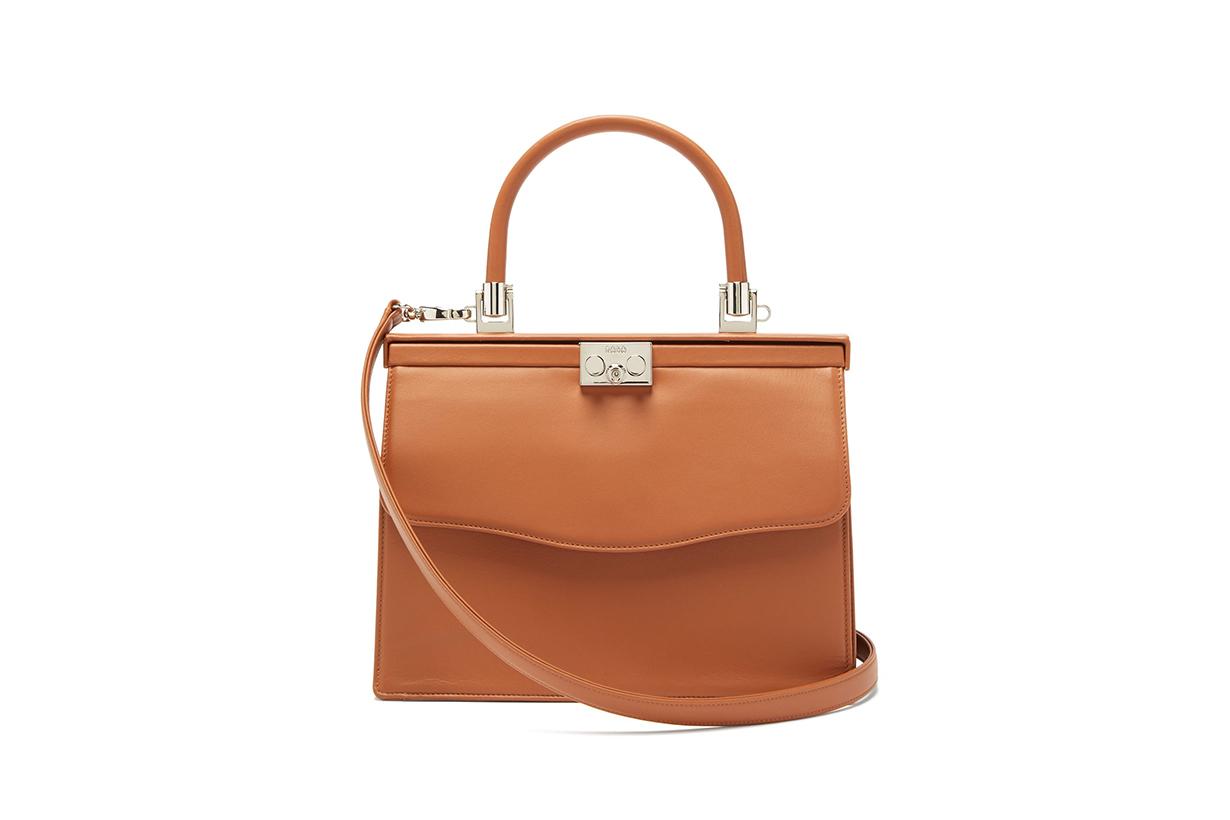 Paris medium leather bag