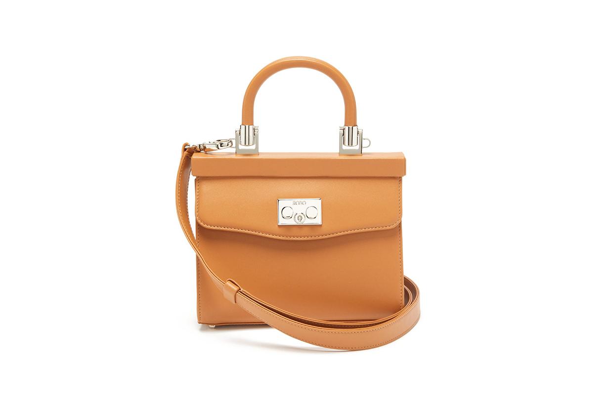 Paris small leather cross-body bag