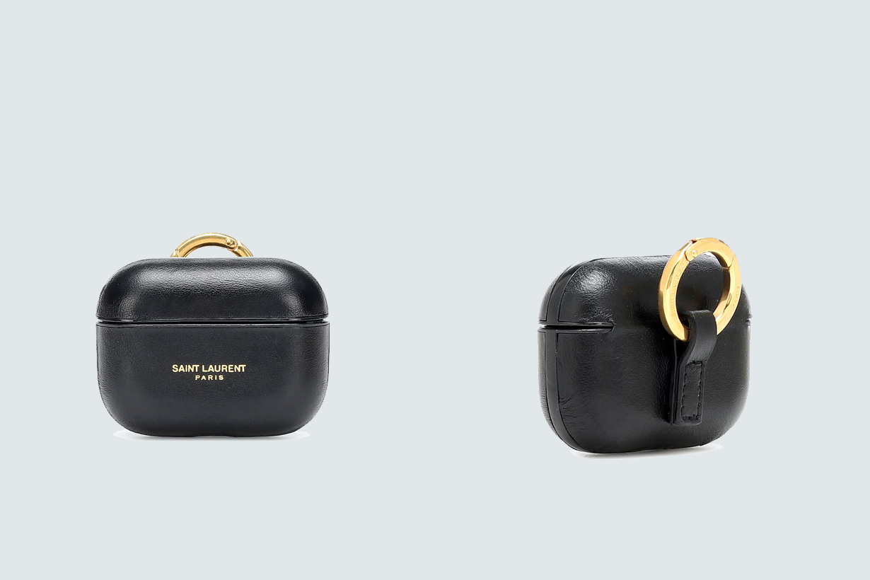 saint laurent airpods pro case where buy leather simple luxury