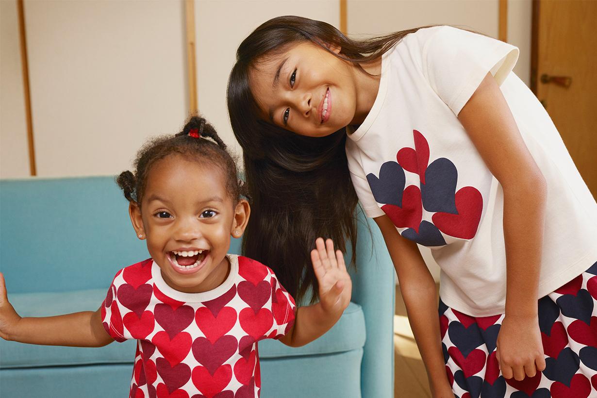 Kids Wearing UNIQLO x Marimekko