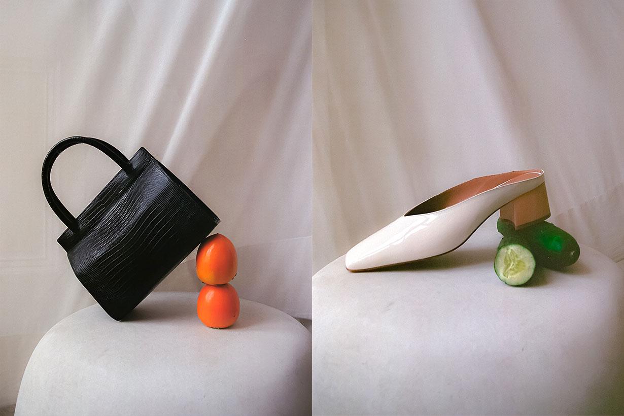 By Far Handbag, shoes
