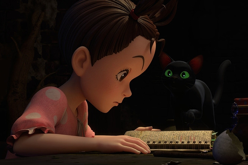 Studio Ghibli Earwig and the Witch Movie trailer