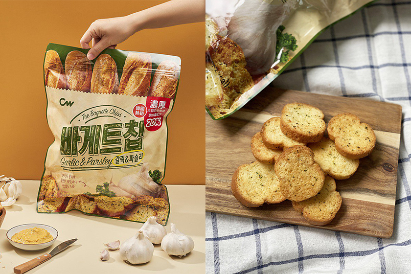 CW The Baguette Chips garlic parsley Taiwan