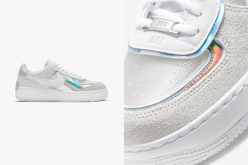 Nike Air Force 1 Shadow Transparent baby blue