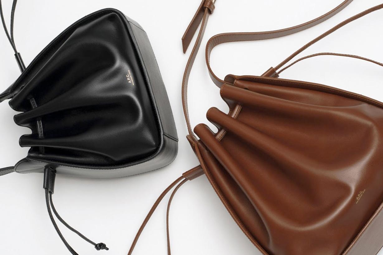 a.p.c. courtney bucket bag new classic fw where buy
