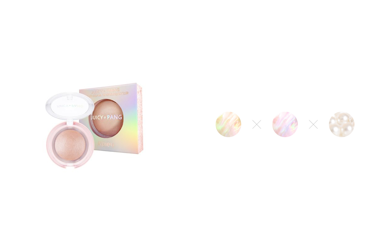 a'pieu highlighter JH01 sparkly natural japan limited new color