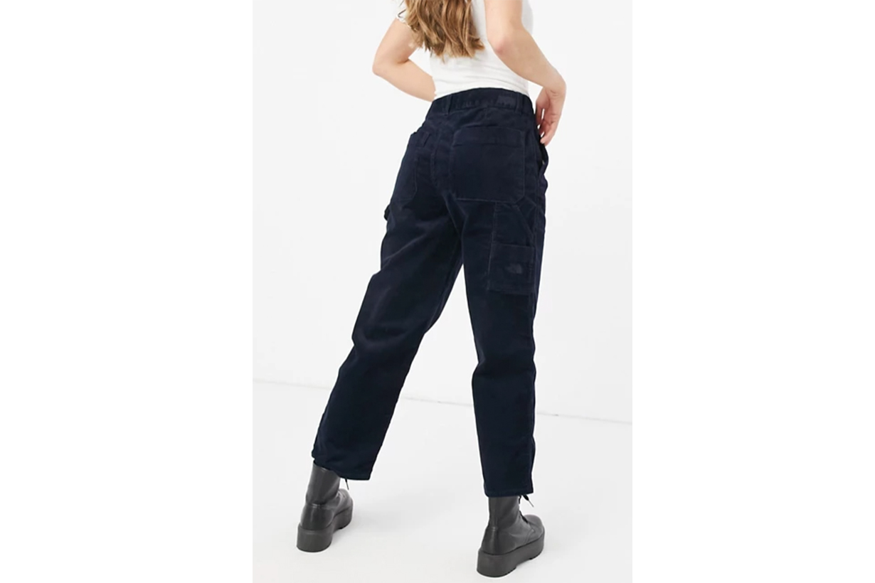 Berkeley corduroy trousers in blue