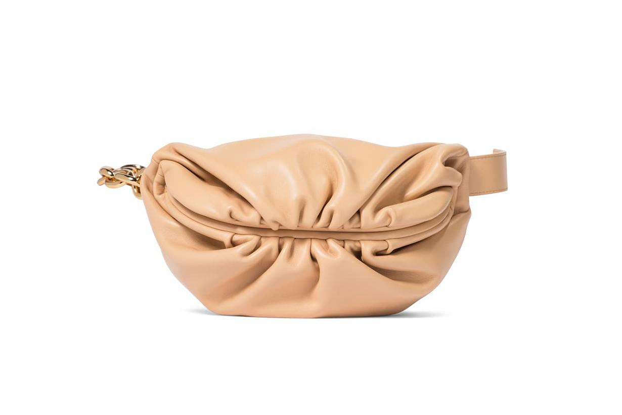 BOTTEGA VENETA The Chain Pouch leather belt bag
