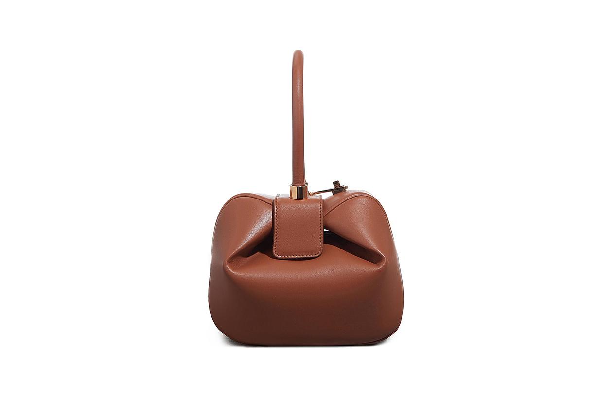 'DEMI' LEATHER DUMPLING BAG