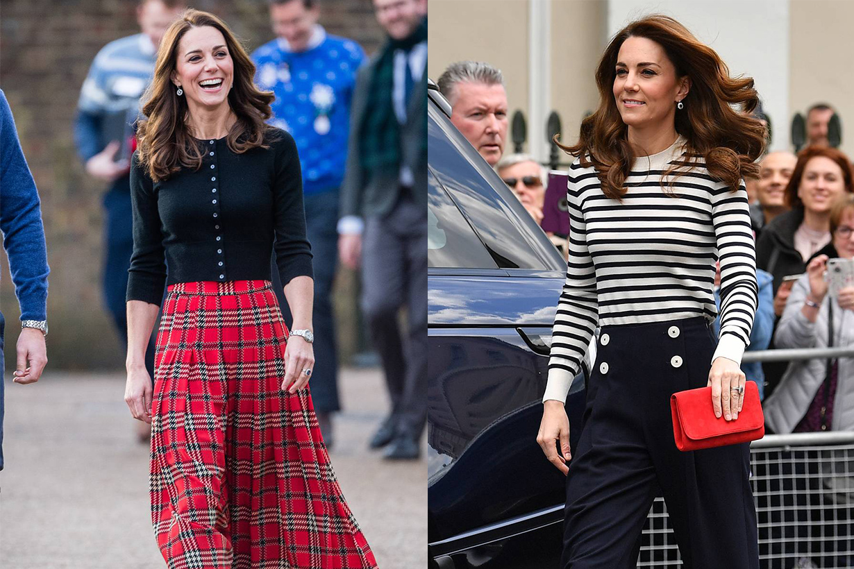 Kate middleton sweater outfits 2020 fw