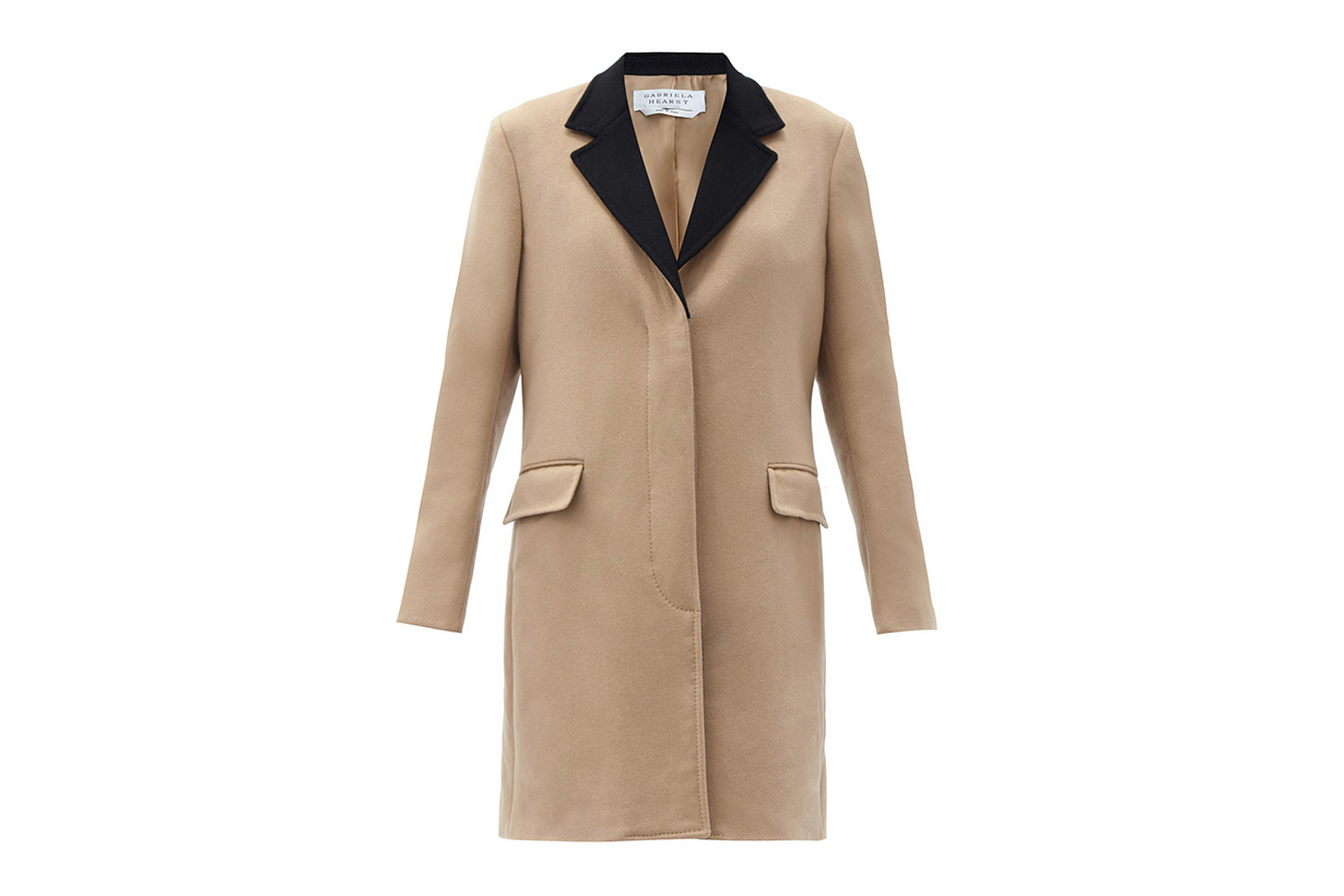 GABRIELA HEARST Bailey single-breasted recycled-cashmere coat