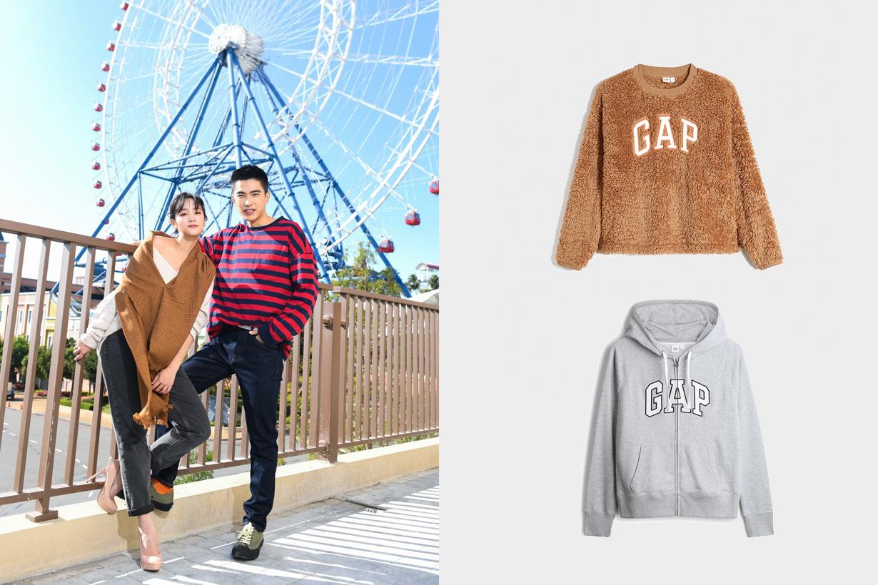 gap outlet lihpao mall taichung taiwan opening sale gingle jhtseng