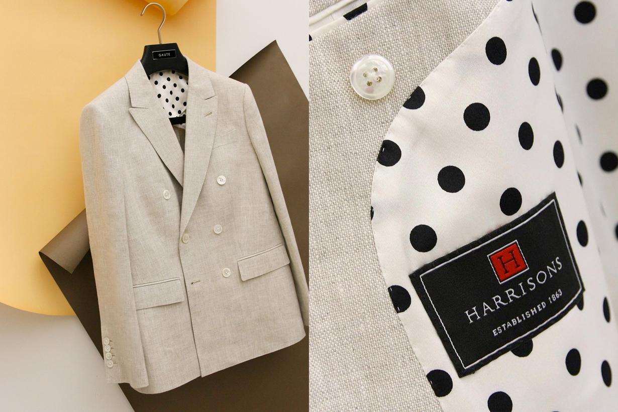 GAUTE kiwi blazer suit bespoke taichung woman tailor taiwan