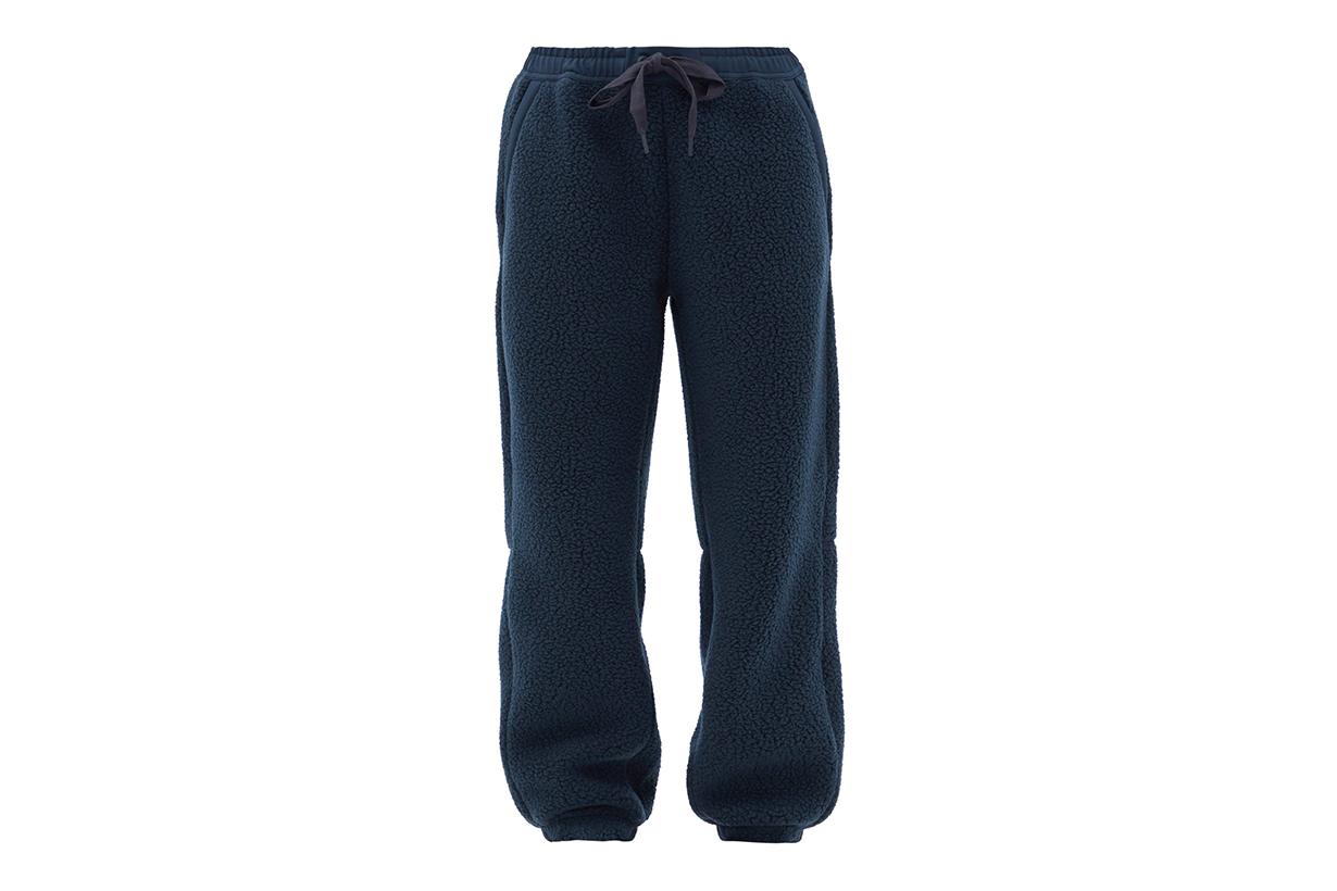 HOLDEN Elasticated-waist fleece track pants