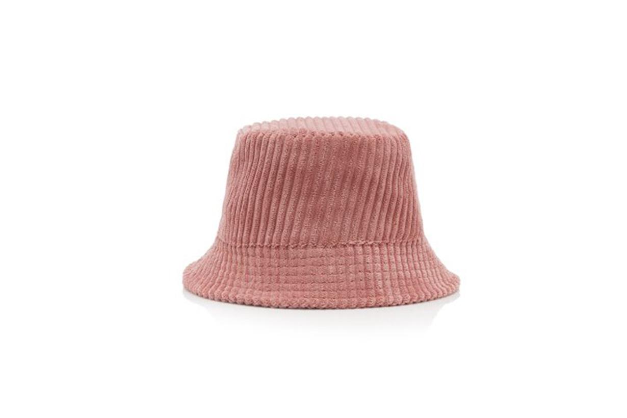 Isabel Marant Haley Logo-Embroidered Corduroy Bucket Hat