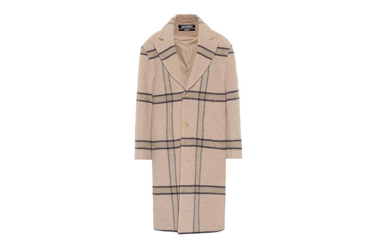JACQUEMUS Le Manteau Carro virgin wool coat