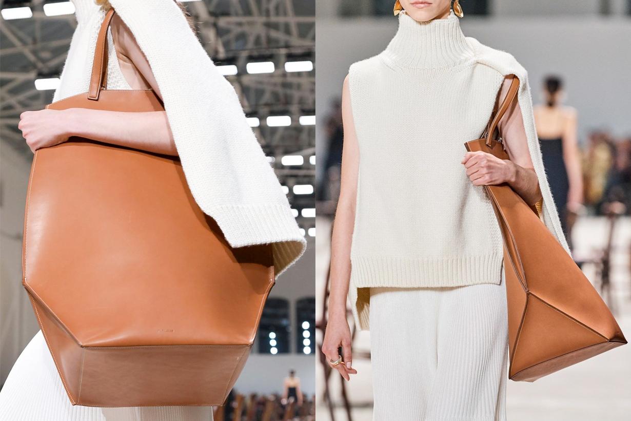 Jil Sander Edo Tote Bag new handbags minimal where buy