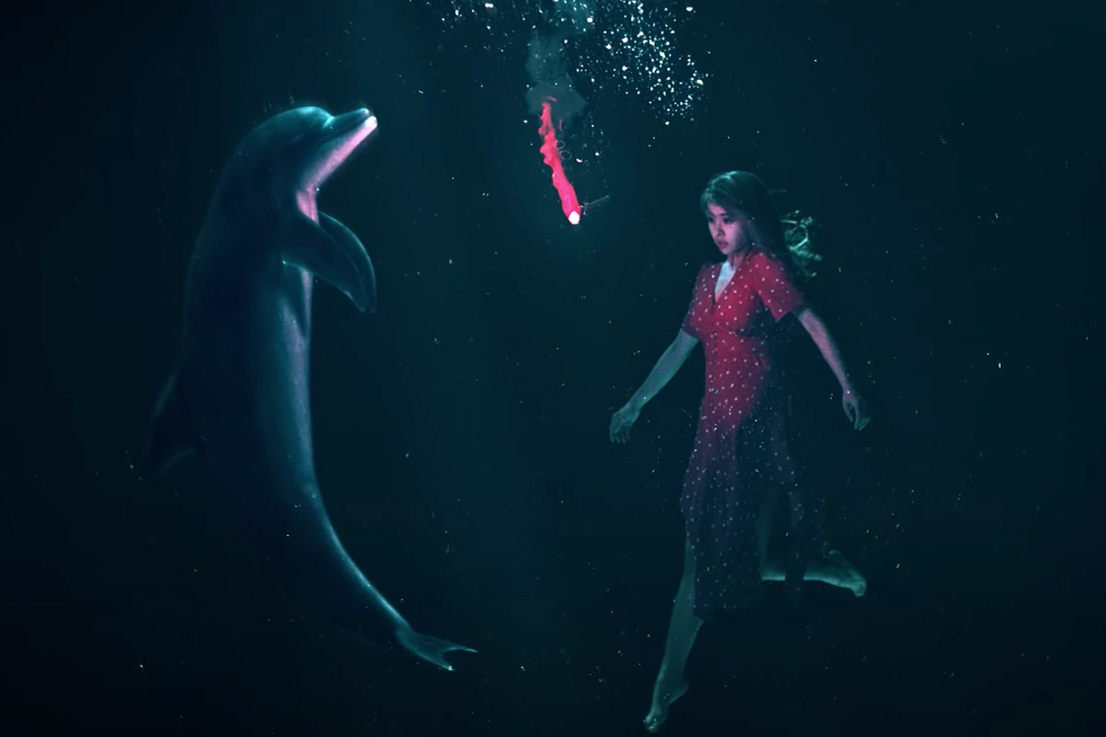 Jolin Tsai Sweet Guilty Pleasure Dolphin Love Story BBC The Girl Who Talked to Dolphins Margaret Howe Lovatt NASA Wet Goddess: Recollection of a Dolphin Lover Malcolm Brenner