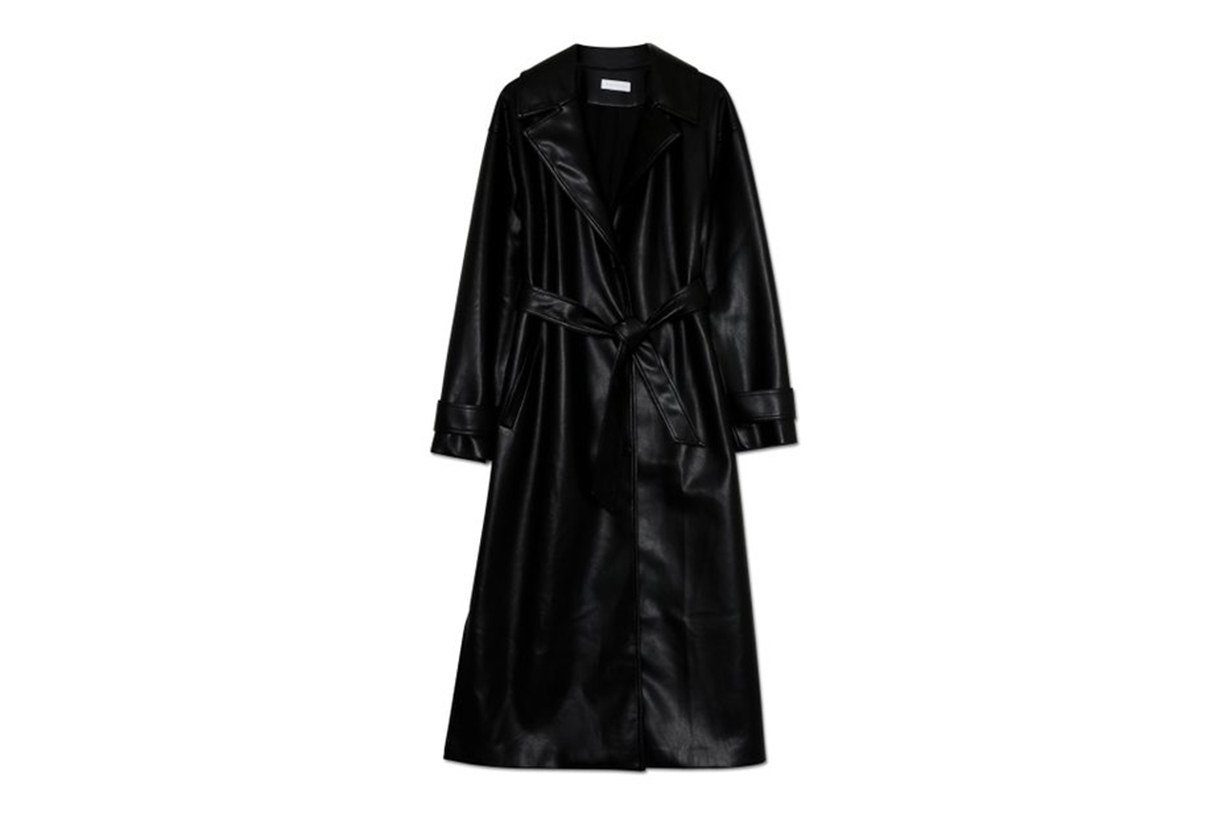 Jonathan Simkhai Paulette Vegan Leather Trench Coat