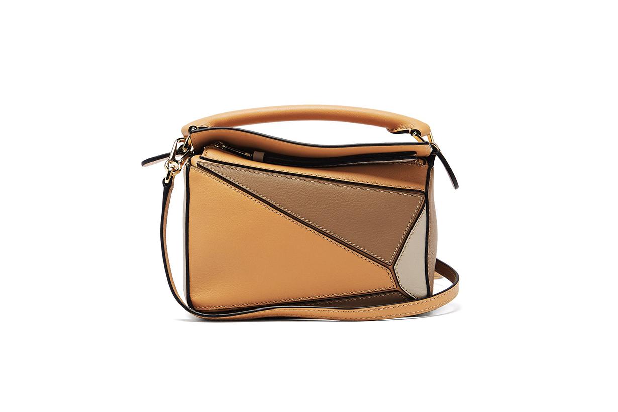 LOEWE Puzzle mini leather cross-body bag