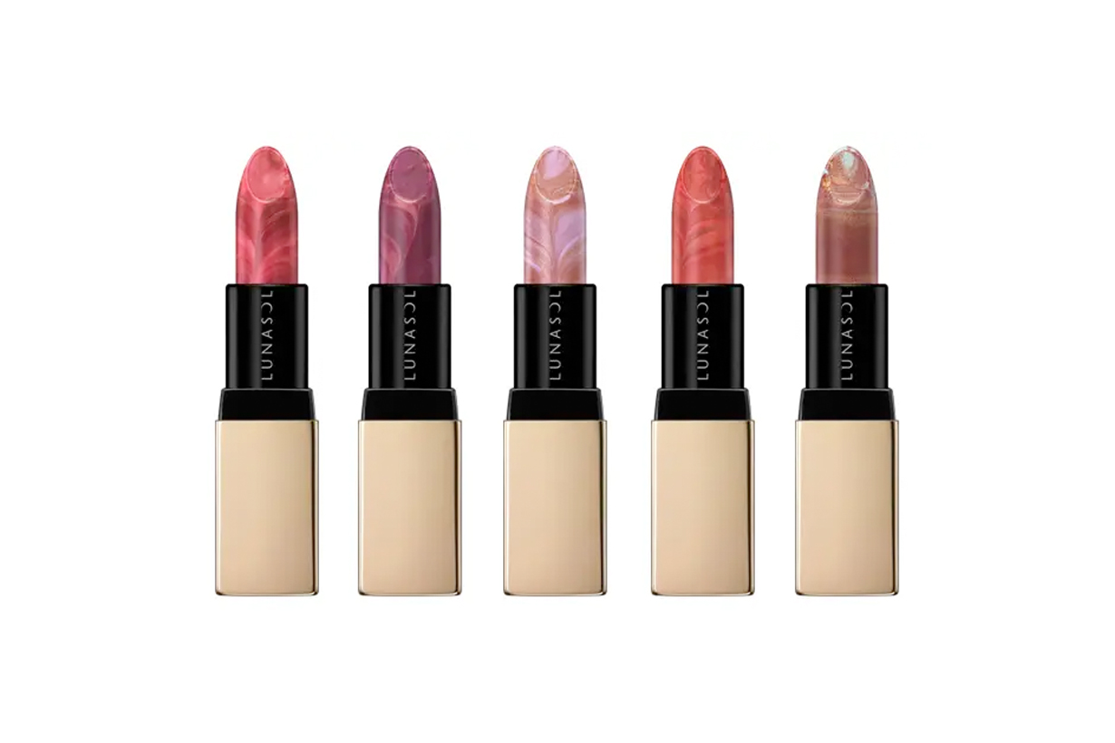 lunasol lipstick japan 2020 holiday limited collection
