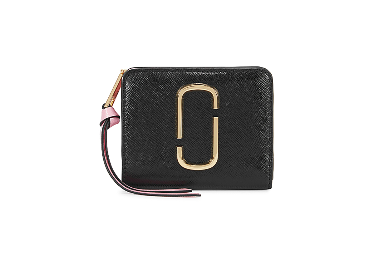 MARC JACOBS  The Snapshot colour-block leather wallet