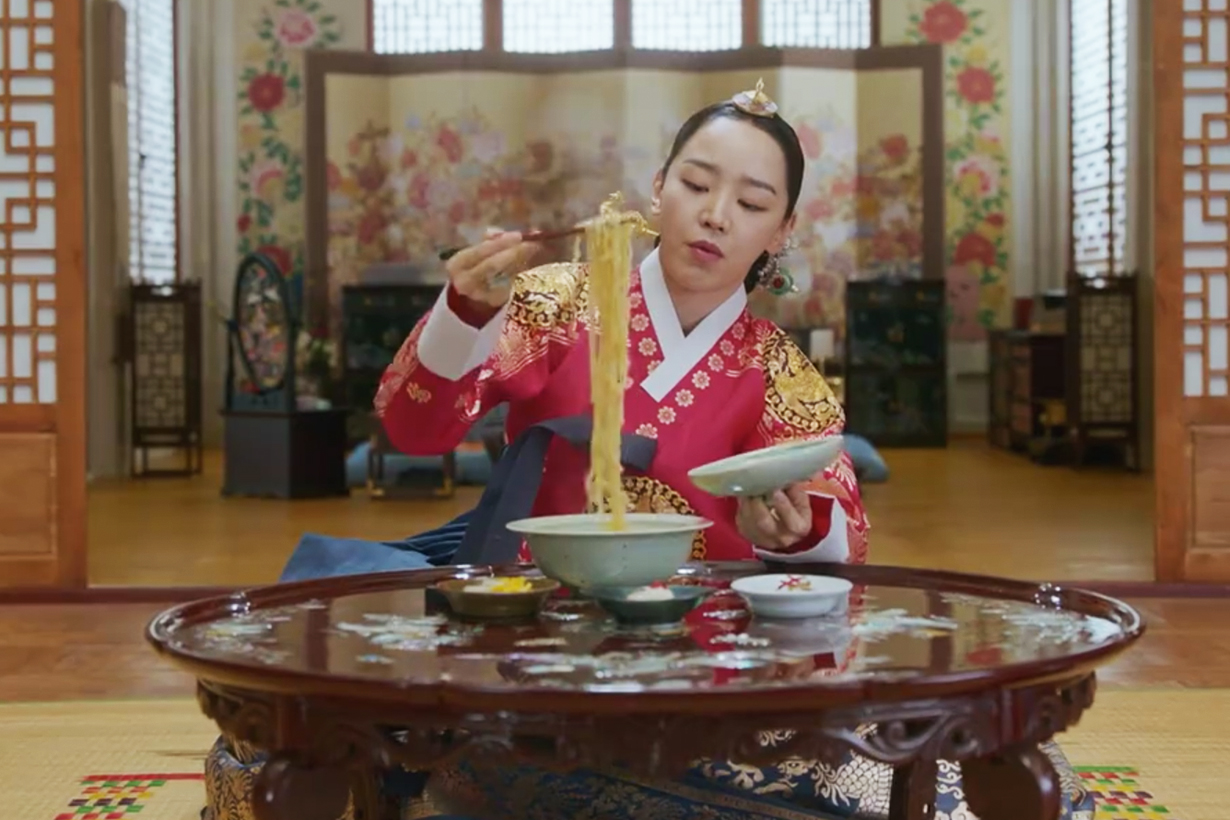 Mr. Queen Shin Hye Sun tvN Drama Korean Drama History of Korean Ramen Instant Noodles Samyang Food