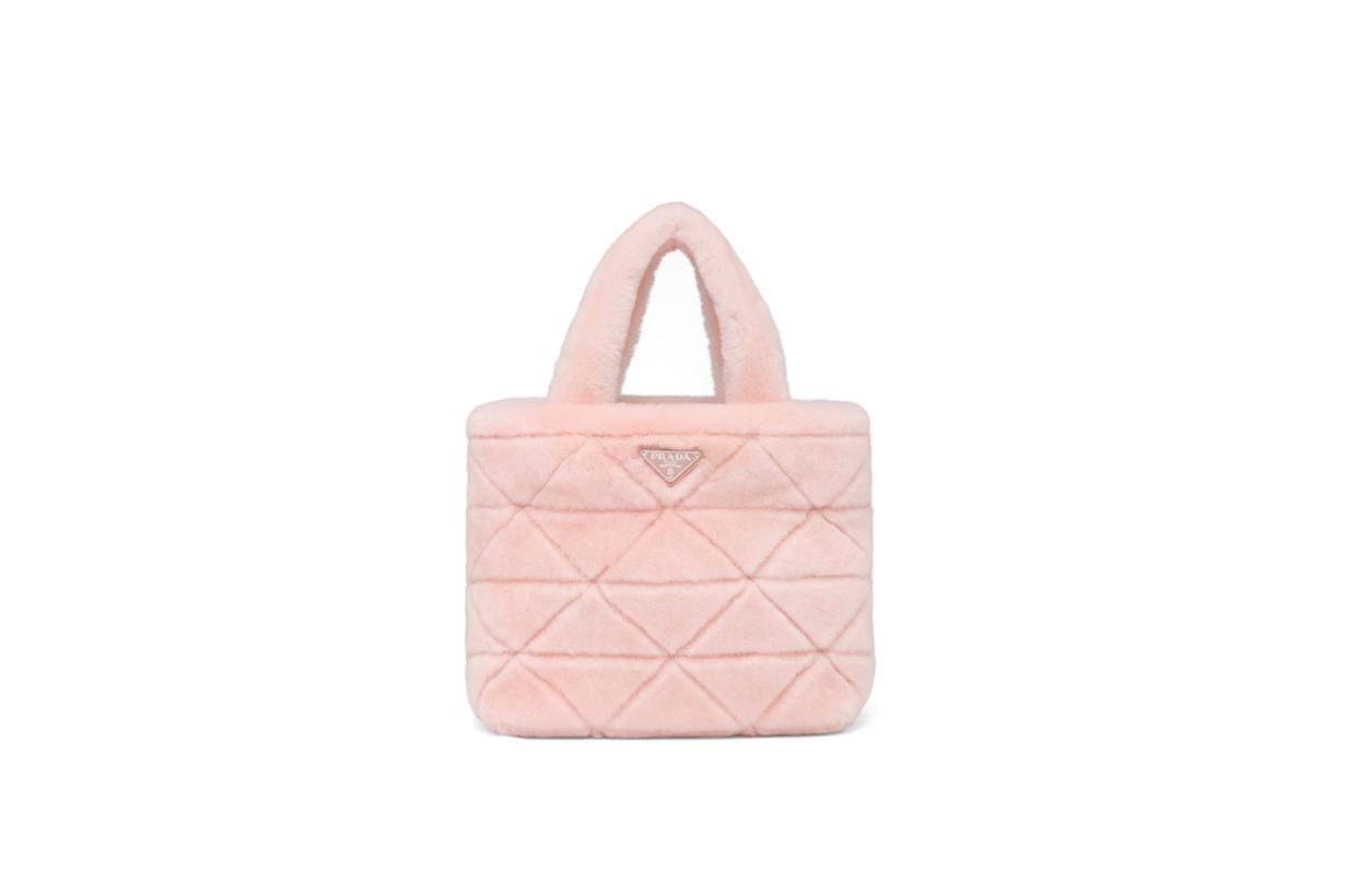 prada handbags furry raf simons miuccia 2021 SS japan limited