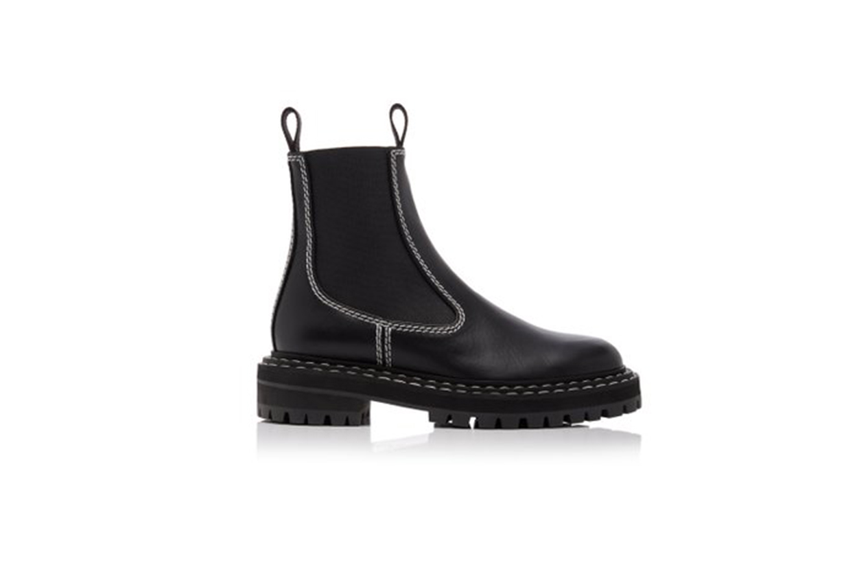 Proenza Schouler Leather Chelsea Boots