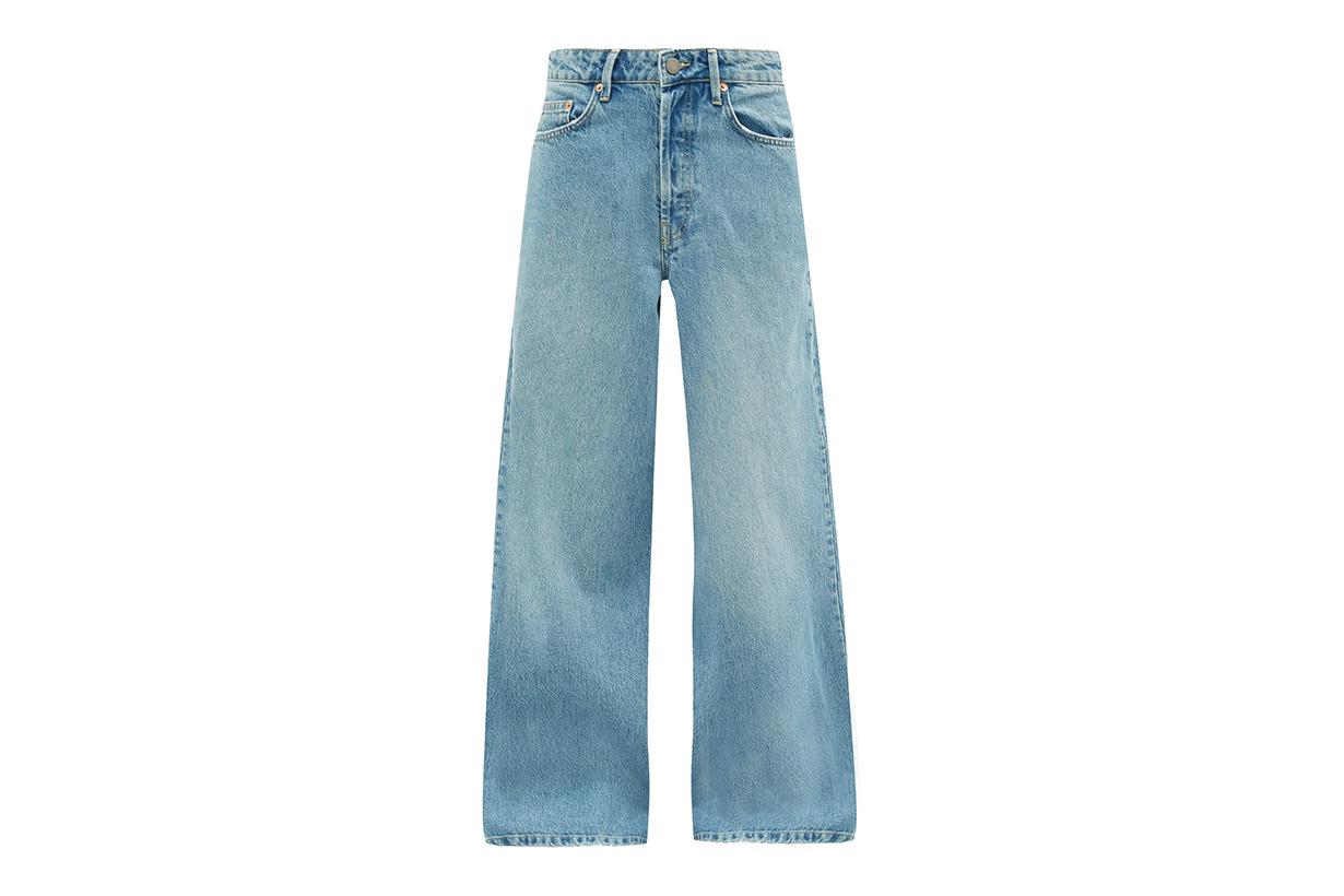 RAEY Stride wide-leg jeans